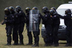 Действия сотрудников полиции